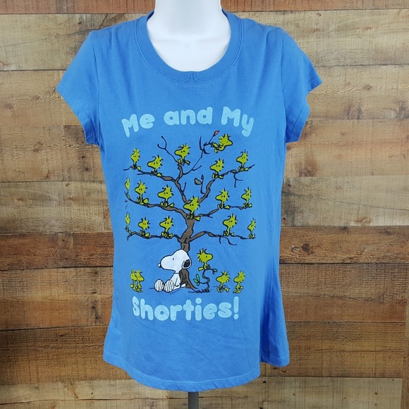27aacc38 Peanuts Shirts & Tops   Me And My Shories Tshirt Girls Size Xl ...
